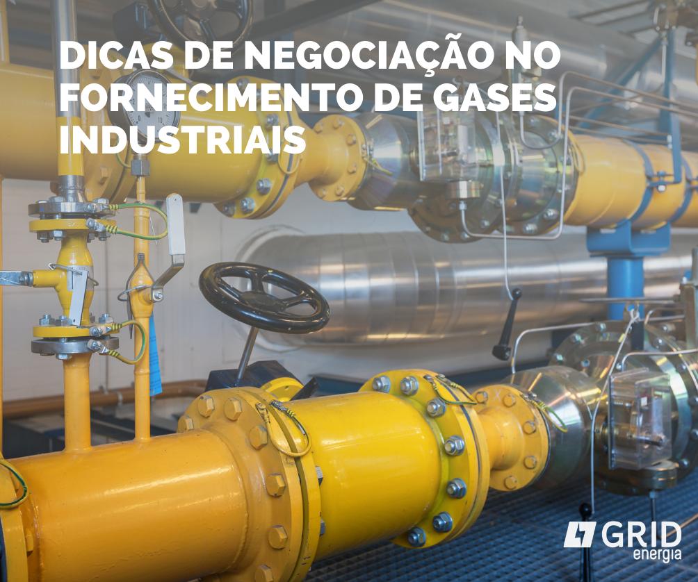 Gases especiais e contratos de fornecimento