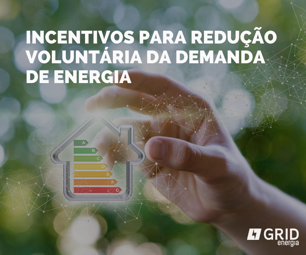 Incentivos para redução voluntária da demanda de energia